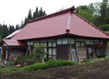 尾花沢市畑沢 古瀬邸 屋根塗装