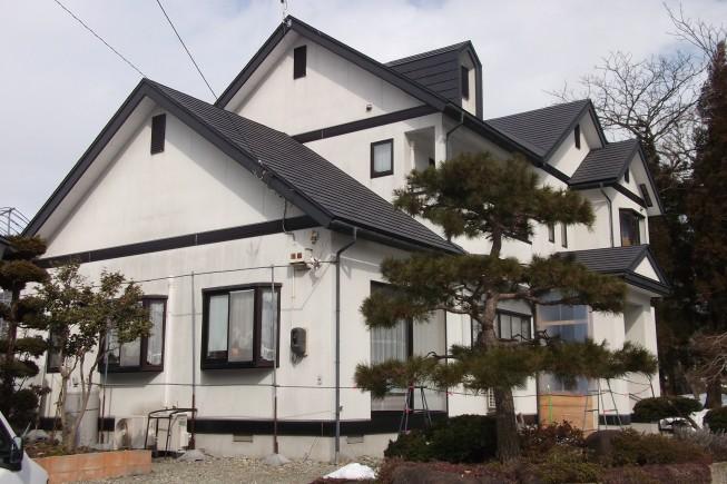 天童市山口 滝口様邸 屋根外壁塗装