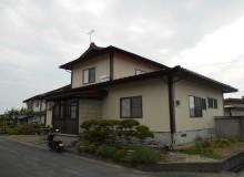 村山市 楯岡 和泉様邸 屋根塗装